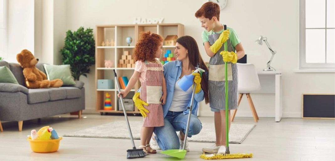 Cómo organizar las tareas del hogar